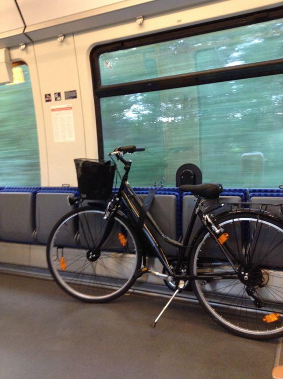 自転車と通勤